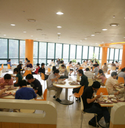 student cafeteria