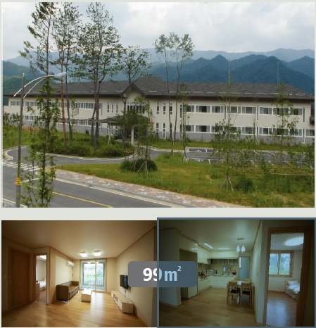 Dormitory in the PyeongChang campus