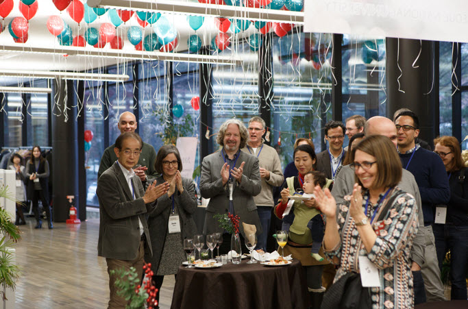 2016 year-end party for international faculty