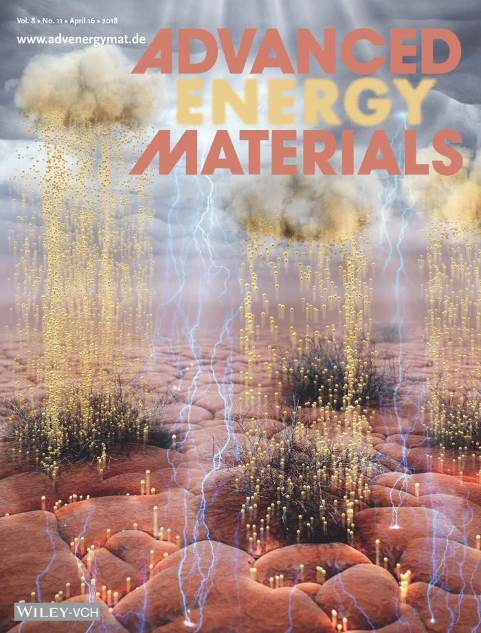 The research was published in journal 'Advanced Energy Materials' as the cover article on April 17, 2018.