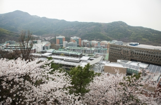 Gwanak Campus in Spring