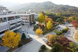 Gwanak Campus in Autumn